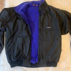 Vtg Patagonia Fleece Lined Men's Jacket Size XL